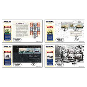 2013 Merchant Navy PSB Definitive Set of 4
