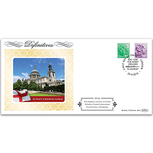 2015 New Country Definitives - England