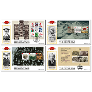 2016 WW1 PSB DEFIN SET OF 4