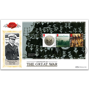 2016 WW1 PSB DEFIN - (P2) £1.52 x 3 Pane