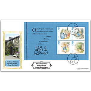 2016 Beatrix Potter PSB Definitive - (P1) M/S Pane