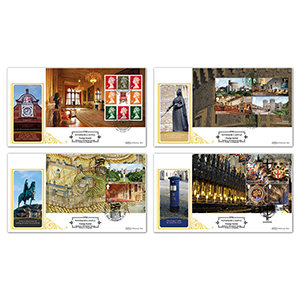 2017 Windsor Castle PSB Definitive - Set of Four