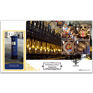 2017 Windsor Castle PSB Definitive Cover - (P4) M/S Pane