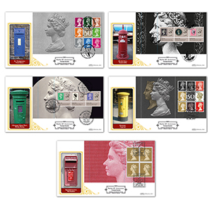 2017 Machin 50th Anniversary PSB Definitives - Set of 5