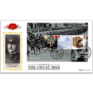 2017 WWI PSB Definitive Cover - (P3) 3 x £1.57