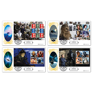 2017 Star Wars PSB - Defintive Covers - Set of 4
