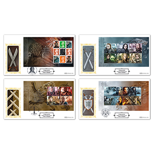2018 Game of Thrones PSB Definitives - Set of 4