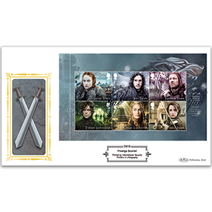 2018 Game of Thrones PSB Definitive Cover - (P1) 1st x 6 Pane