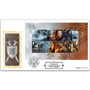 2018 Game of Thrones PSB Definitive Cover - (P3) M/S Pane