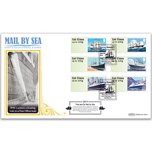 2018 Post & Go - Mail By Sea Definitive Cover