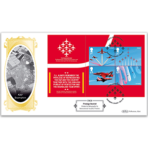 2018 RAF 100th Anniversary PSB Definitive Pane - (P4) Miniature Sheet Stamps