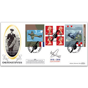 2018 RAF 100th Anniversary Retail Booklet Definitive Cover