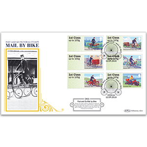 2018 Post & Go - Mail by Bike Definitive Cover