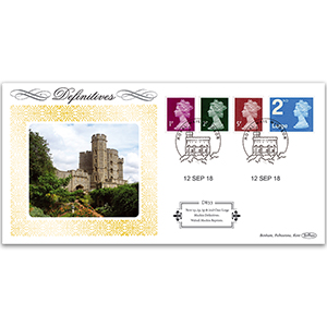 2018 New Definitives - Printer Change Definitives 1p/2p/5p/L2nd Definitives