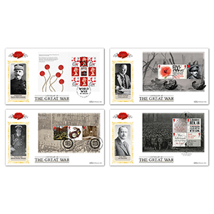 2018 WWI PSB Definitive Set of 4 Covers