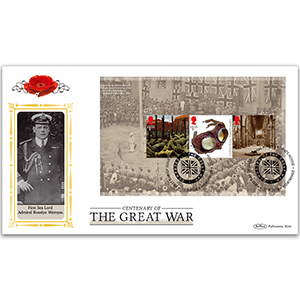 2018 WWI PSB Definitive Cover 3 - (P3) 3 x £1.55 Pane