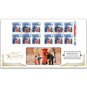 2018 Christmas Retail Booklet Definitive Cover - 12 x 2nd