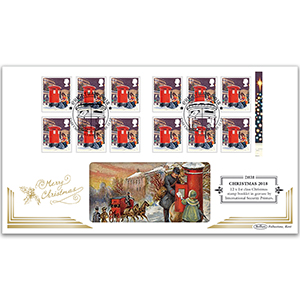2018 Christmas Retail Booklet Definitive Cover - 12 x 1st