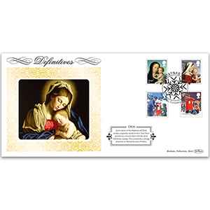 2018 Christmas Definitive - Madonna & Child 2nd & 1st 2017 Reprint