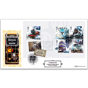 2018 Harry Potter PSB Definitive Cover 3 - (P2) 5 x 1st Hogwarts Express