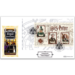 2018 Harry Potter PSB Definitive Cover 4 - (P4) 3 x 1st Sprout
