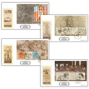 2019 Leonardo da Vinci PSB Definitive Set of 4