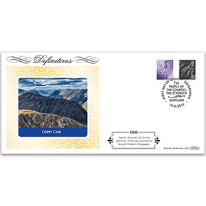 2019 Definitives - Tariff Scotland New Values Definitive Cover