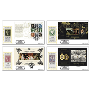 2019 Queen Victoria PSB Definitive Set of 4