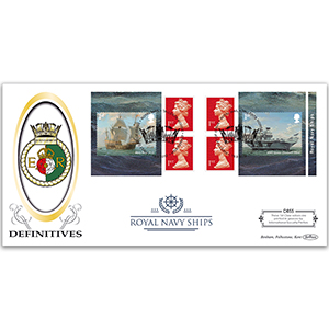 2019 Royal Navy Ships Retail Booklet Definitive Cover