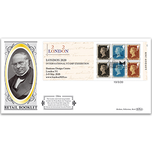 2020 Defin - London 2020 International Stamp Exhibition Retail Booklet Definitive Cover