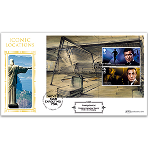 2020 James Bond PSB Defin - (P1) Defin £1.60 x 2 Pane