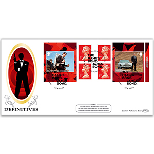 2020 James Bond Retail Booklet Definitive Cover