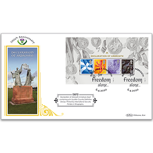 2020 Declaration of Arbroath M/S Definitive Cover