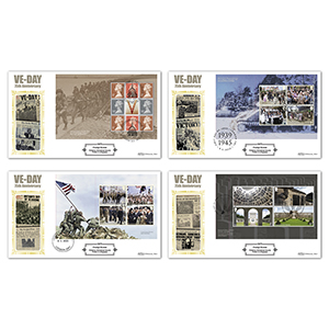 2020 End of WWII PSB Defin - Set of 4