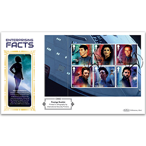 2020 Star Trek PSB DEFIN - (P2) 1st x 6 (Spock) pane