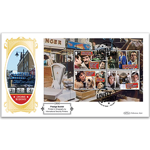 2021 Only Fools & Horses PSB DEFIN - (P1) 4 x 1st pane
