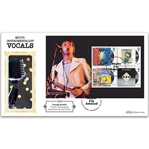 2021 Paul McCartney PSB Definitive - (P2) 4 x £1.70 Pane