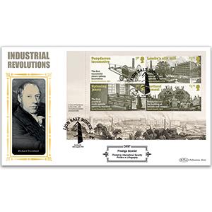 2021 Industrial Revolutions PSB Definitive - (P1) 2x1st/2x£1.70 Pane
