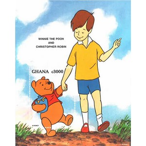 Ghana Pooh and Christopher Robin c3000 m/s