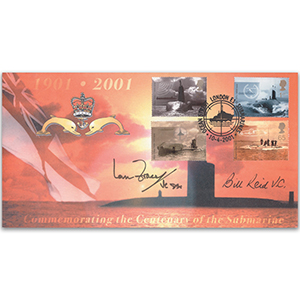 2001 Submarine Centenary - Signed by Ian Fraser VC and Bill Reid VC