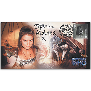 2001 Doctor Who Cover - Signed Sophie Aldred