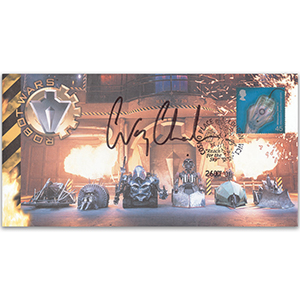 2001 'Robot Wars' - Signed by Craig Charles