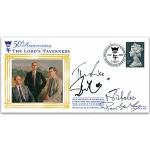 2000 Lord's Taverners Signed Sir John Mills, Tim Rice, N Parsons