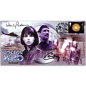 2004 Doctor Who Cover - Signed W. Padbury & N. Courtney
