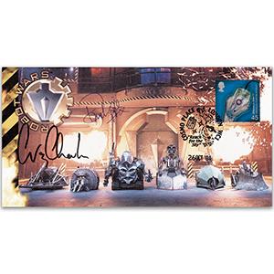 2001 Robot Wars Signed Charls & Forrester