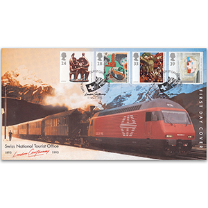 1993 Europa: Art in the 20th Century - Swiss National Tourist Office Official