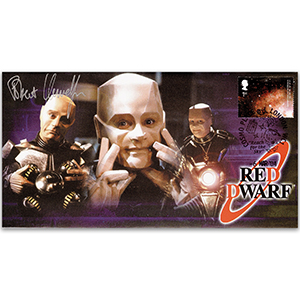 2004 Red Dwarf Cover - Signed by Robert Llewellyn