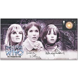 2004 Doctor Who Cover - Signed by Anneke Wills, Deborah Watling & Wendy Padbury