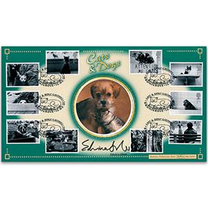 2001 Cats & Dogs - Signed Edwina Silver