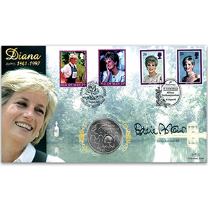 2002 Princess Diana 5th Anniversary - Signed by Eddie Askew OBE - Doubled